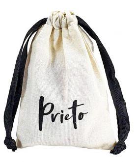 Saquinho de algodão personalizado 15x20 - impressão em serigrafia 1 cor Fechamento com fita de gorgurão - Linha Exclusive  4172