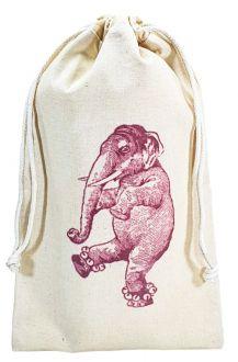 Saquinho de algodão personalizado  20x40 - impressão em serigrafia - Linha Classic 4310