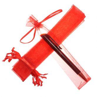 Saquinho de organza para caneta  04x17 - sem impressão - Linha Classix  4571