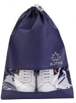 Saquinho de tnt para sapato - Tamanho 25x35 - com visor plastico personalizado - Linha classic 1429