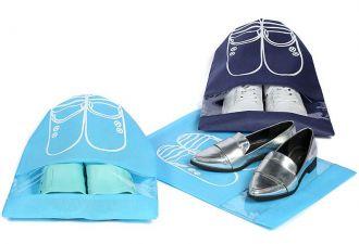 Saquinho de tnt para sapato 30x40 - com visor plastico personalizado - Linha Classic  1431