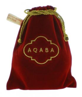 Saquinho de veludo  para carteira - 15 x 20 - logomarca bordada  com linhas de seda - etiqueta lateral -  Linha Classic  7154