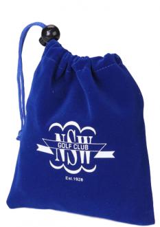 Saquinho de Veludo personalizado para presente - 20x30  impressão da logomarca em Serigrafia  -  Linha Classic 7050