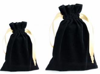 Saquinho de veludo - Sem impressão 12x18 - Para outros tamanhos consulte - Linha Classic 2107