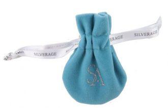 Saquinho de veludo para joias  com fita de cetim personalizada 08 x 12 - Linha Classic 715712