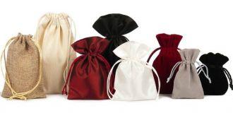 Saquinhos de tecido sem impressão - Fabricamos em qualquer tamanho e material á sua escolha - Linha Classic 4003