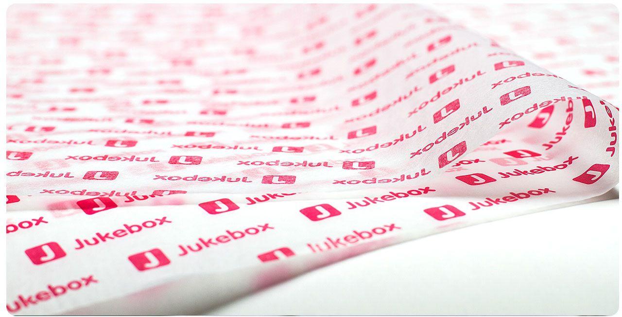 Papel de Seda Personalizado 20g/m - Tamanho 50 x 70 - Linha paper 7094  - Litex Embalagens