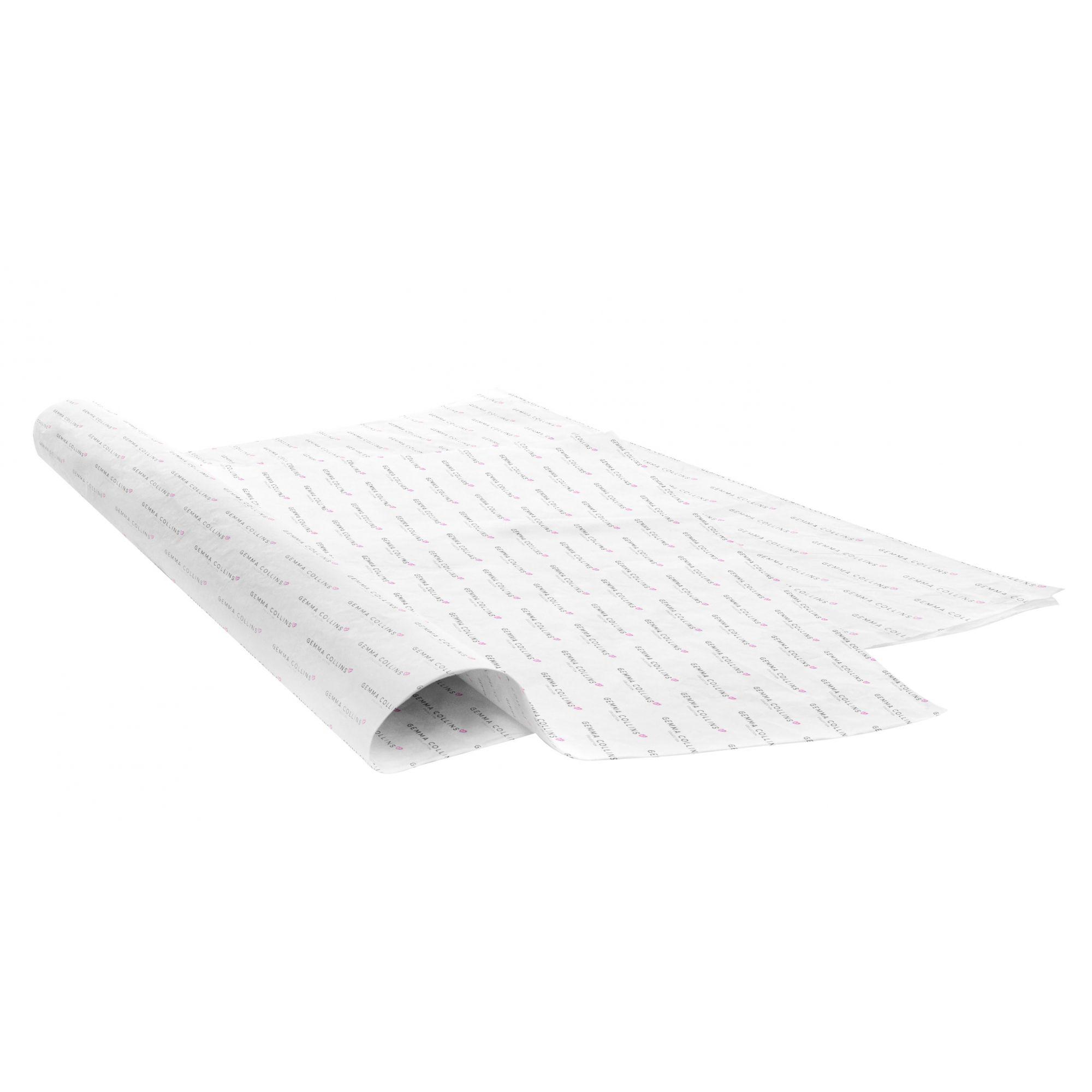 Papel de Seda Personalizado  20g/m - Tamanho 50x70 - impressão em 1 cor - Linha paper  7133  - Litex Embalagens