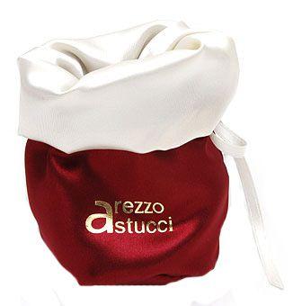 Saquinho de cetim 20x20 - Impressão Hot-Stamping Italiano - borda dupla colorida -  Linha Premium 7300  - Litex Embalagens