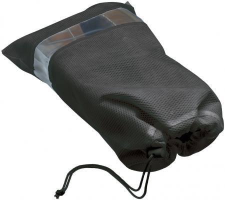 Saquinho de tnt para sapato 20x35 - visor de pvc - sem impressão -  Linha Classic  7437  - Litex Embalagens