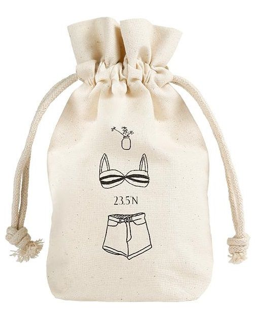 Embalagem de algodão personalizado 15x20 - impressão em serigrafia - Linha Classic 1128  - Litex Embalagens