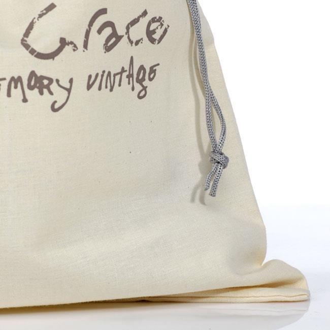 Embalagem de algodão personalizado - 30 x 40 - impressão em serigrafia - Linha Classic 7439  - Litex Embalagens