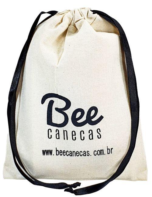 Embalagem de algodão para kit ressaca - 12x18 -  impressão da logomarca em serigrafia  - Linha Classic 7195  - Litex Embalagens