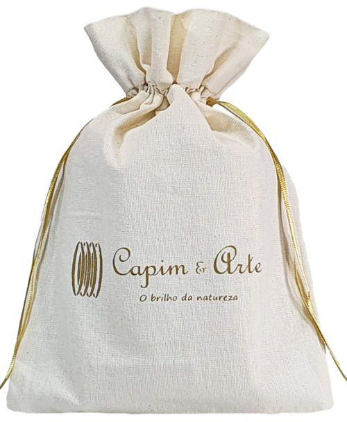 Embalagem de algodão personalizada 20x30 - impressão em serigrafia  - Linha Classic 7138  - Litex Embalagens