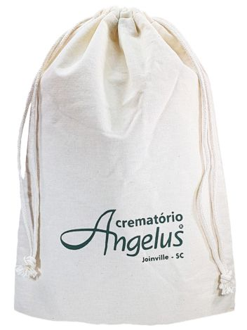 Embalagem de algodão  personalizado 45x50 -  impressão em serigrafia  -  Linha Classic 4323  - Litex Embalagens