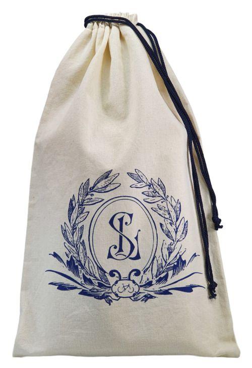 Embalagem de algodão personalizado para brindes - Tamanho 25 x 35 - impressão em serigrafia - Linha Classic 4115  - Litex Embalagens