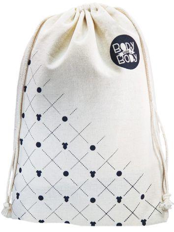 Embalagem de algodão  personalizado para chinelos 35x50 -  impressão em serigrafia  -  Linha Classic 4367  - Litex Embalagens