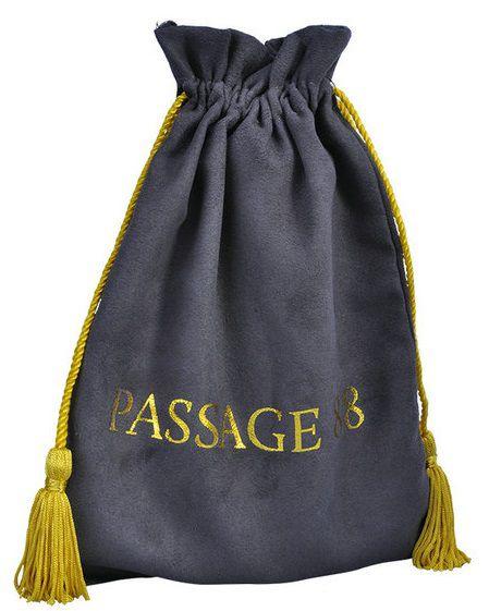 Embalagem de Camurça premium 15x20 - Impressão Hot Stamping Italiano - fechamento com  pingente de seda - Linha Luxo 1093  - Litex Embalagens