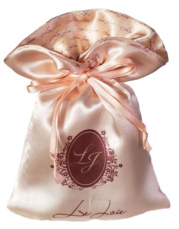 Embalagem de cetim 06 x 08 - Borda gola impressão colorida -  Linha Exclusive 7422  - Litex Embalagens