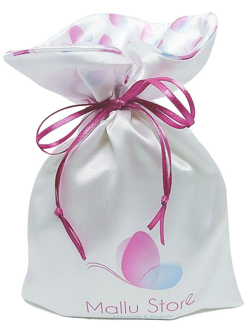 Embalagem de cetim  15 x 20 - Borda gola personalizada - impressão digital -  Linha Exclusive 7080  - Litex Embalagens