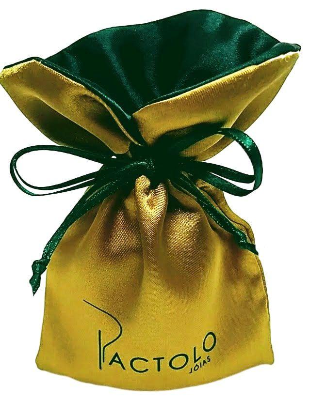 Embalagem de cetim borda gola colorida 08x12-   Linha Luxo 7036  - Litex Embalagens