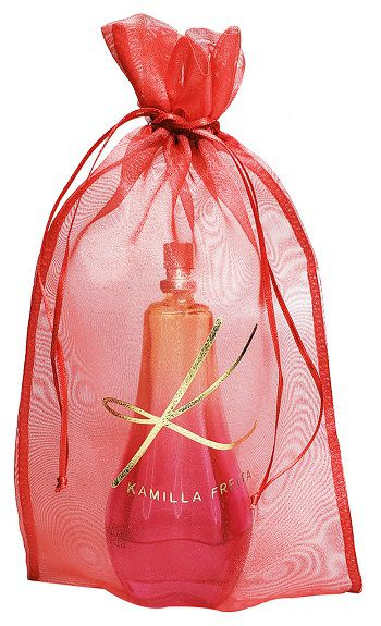 Embalagem de organza personalizada para brindes 20 X 30 - Impressão Hot-Stamping Italiano - Linha Exclusive  1768  - Litex Embalagens