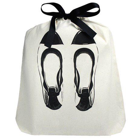 Embalagem de oxford para sapato 30x40 - personalizado com sublimação 1 cor -  Linha Classic  18222  - Litex Embalagens