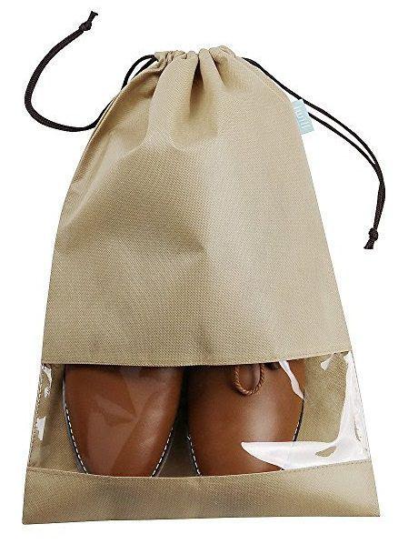 Embalagem de tnt para sapato - tamanho 25x35 - etiqueta lateral personalizada - Linha Classic  1425  - Litex Embalagens