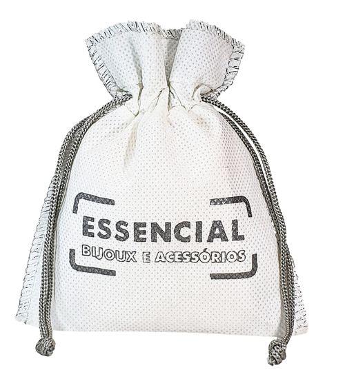Embalagem de tnt  Personalizado - Tamanho 20x30 - Impressão Serigrafia - Costura Lurex Metal -  Linha classic  4301  - Litex Embalagens