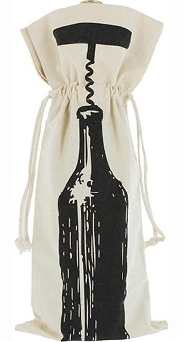 Embalagem para garrafa de algodão Personalizada 18x40 - impressão em Serigrafia - Linha Classic 708  - Litex Embalagens