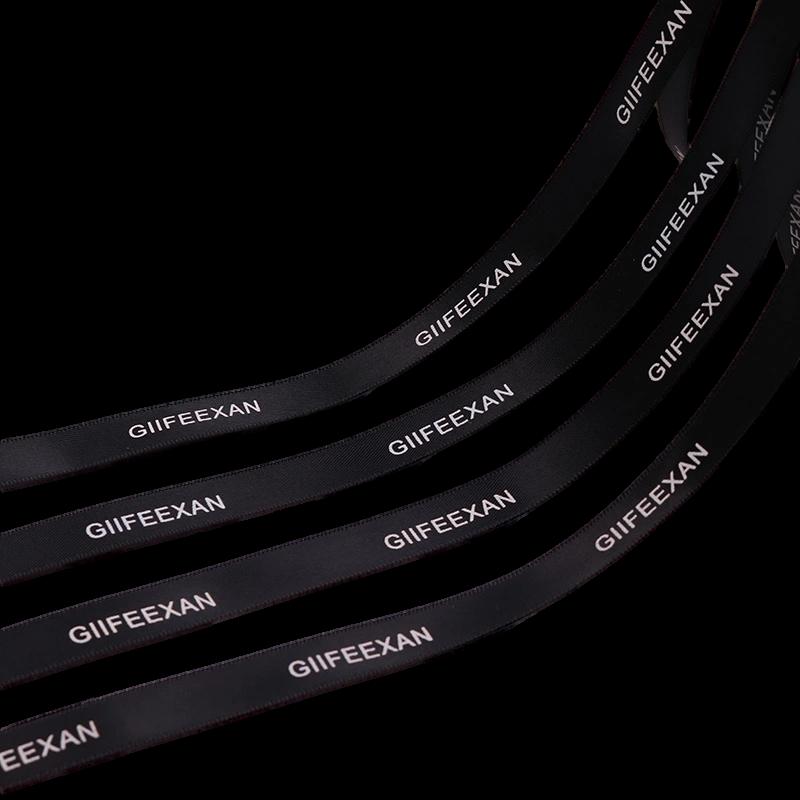 Fita de cetim personalizada 10mm  - Impressão Foil Metalizado ou serigrafia 1 cor - Preço por metro - Linha cristal 4507  - Litex Embalagens