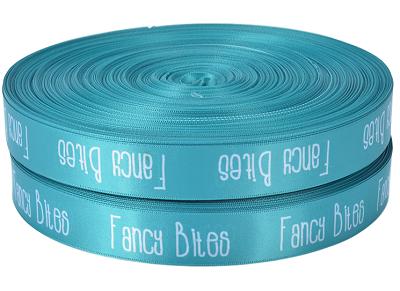 Fita de Cetim 20mm Personalização em Foil Metalizado ou Serigrafia 1 Cor  - Litex Embalagens