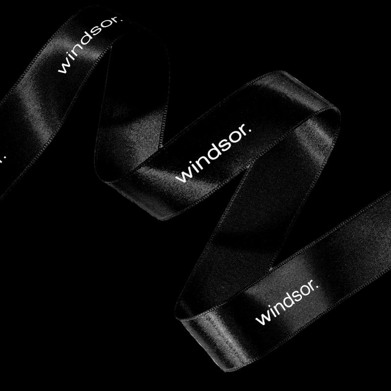 Fita de cetim personalizada 20mm  - Impressão Foil Metalizado ou serigrafia 1 cor - Preço por metro - Linha cristal 454801  - Litex Embalagens