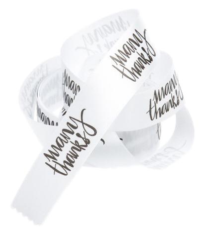 Fita de Cetim 40mm Personalização em Foil Metalizado ou Serigrafia 1 Cor  - Litex Embalagens