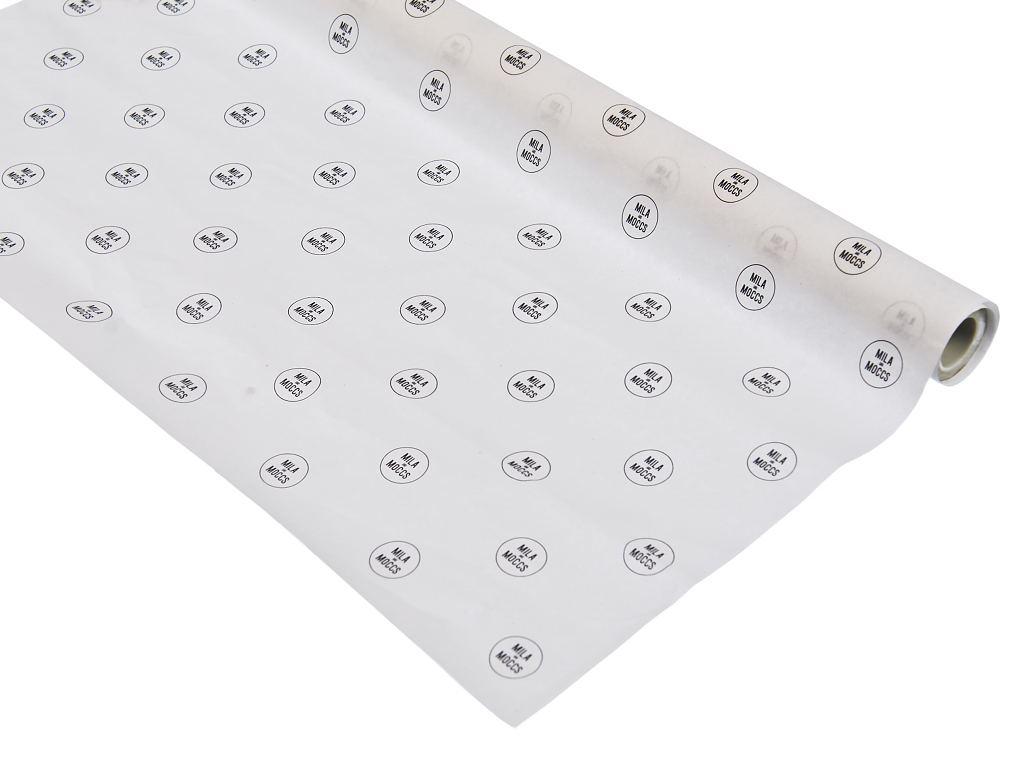 Papel de Seda Personalizado 20g/m - Tamanho 50 x 70 - Impressão em 1 cor - Para outras quantidades consulte: litex@litex.com.br - Linha paper  7669  - Litex Embalagens