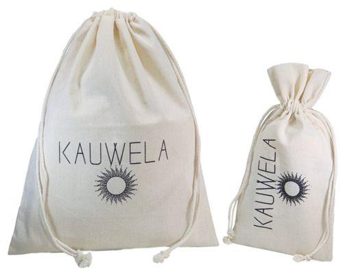 Kit de embalagem personalizada de Algodão - 1 saquinho borda dupla 10x15 - 1 saquinho borda simples 20x30 -  Linha Premium  990   - Litex Embalagens