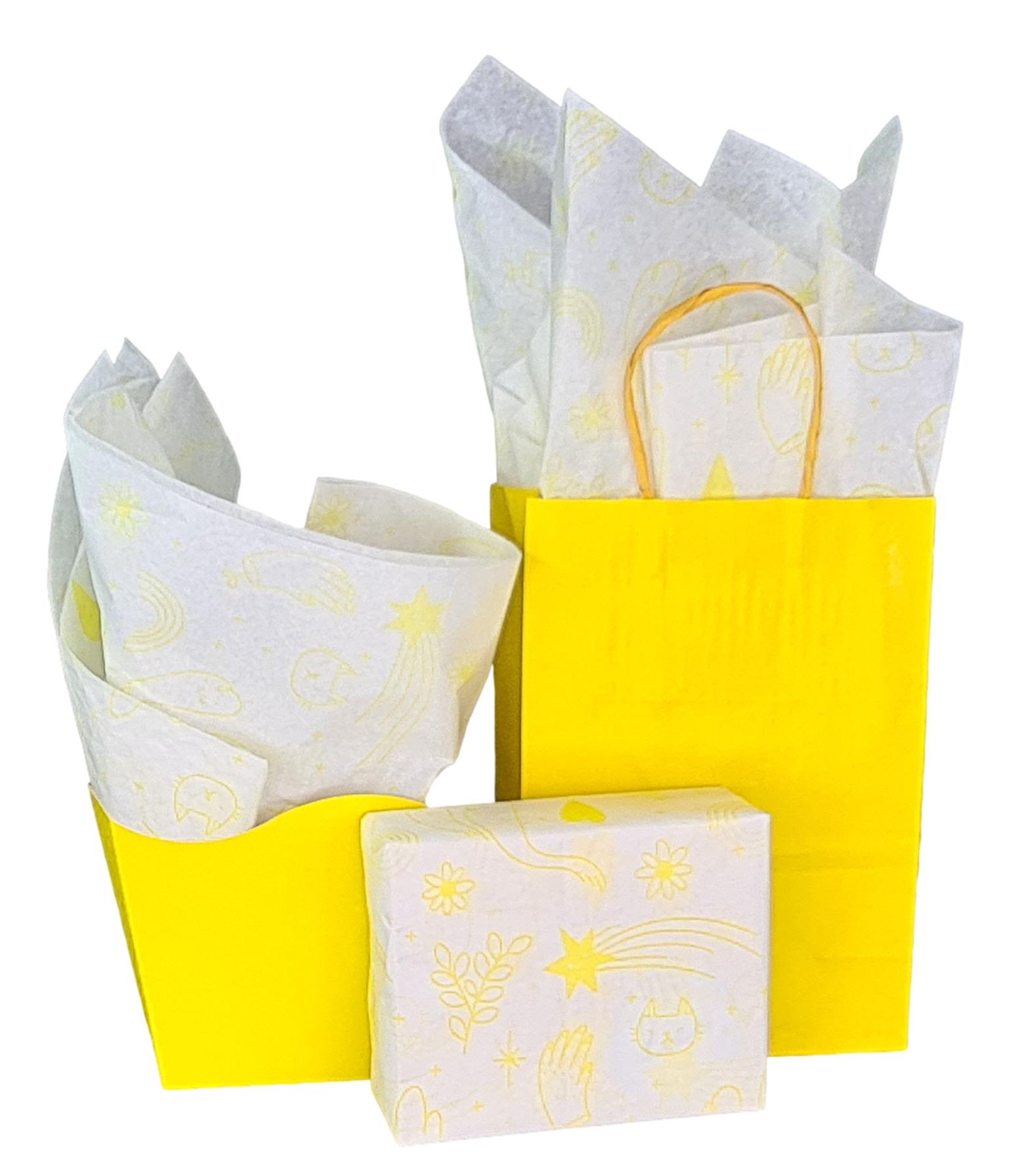 Papel de Seda Personalizado 20g/m - Tamanho 50 x 70 - Linha paper 1132  - Litex Embalagens