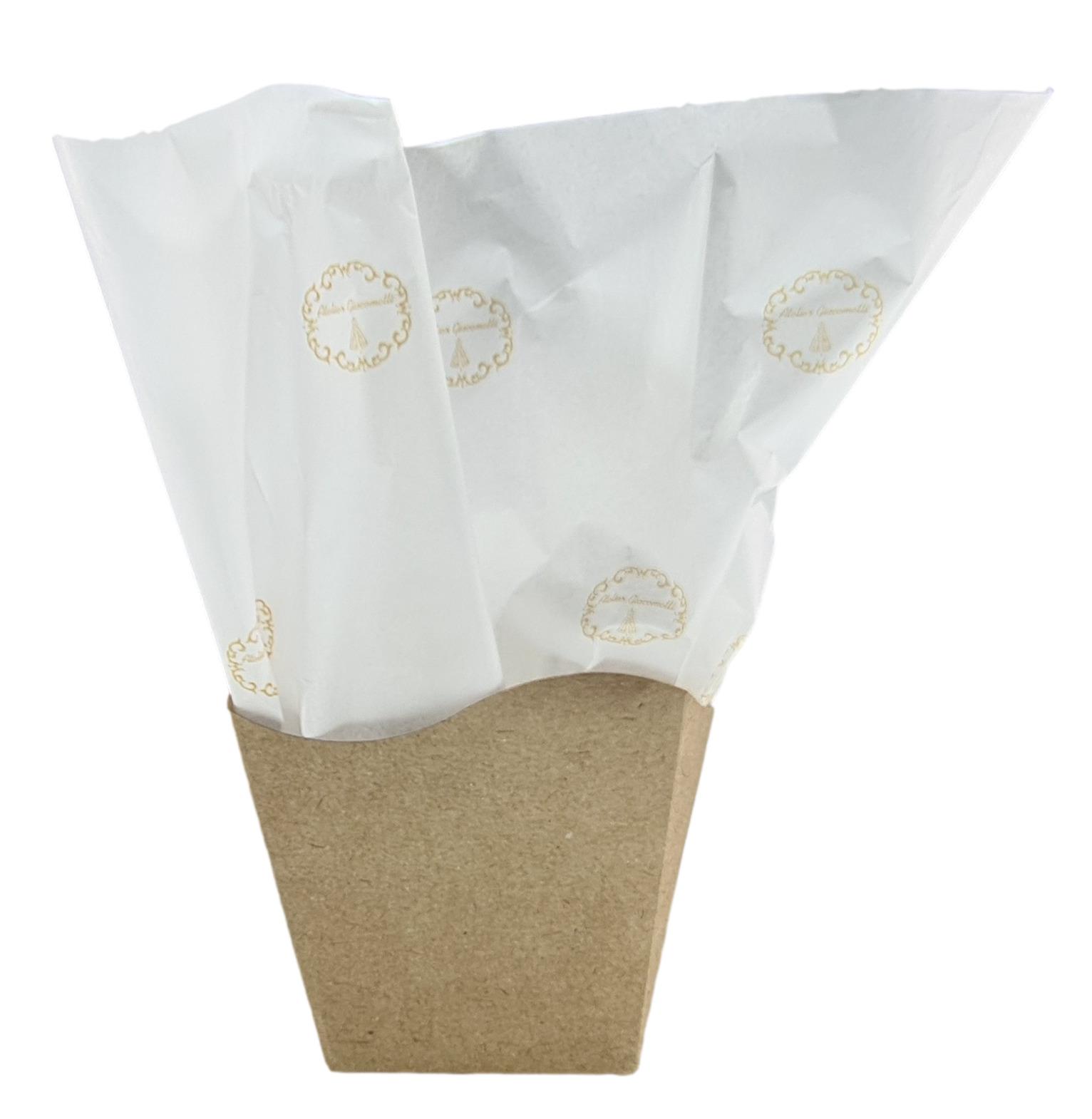 Papel de Seda Personalizado 20g/m - Tamanho 50 x 70 - Linha paper  1204  - Litex Embalagens