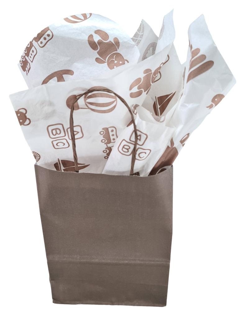 Papel de Seda Personalizado 20g/m - Tamanho 50 x 70 - Linha paper  1210  - Litex Embalagens