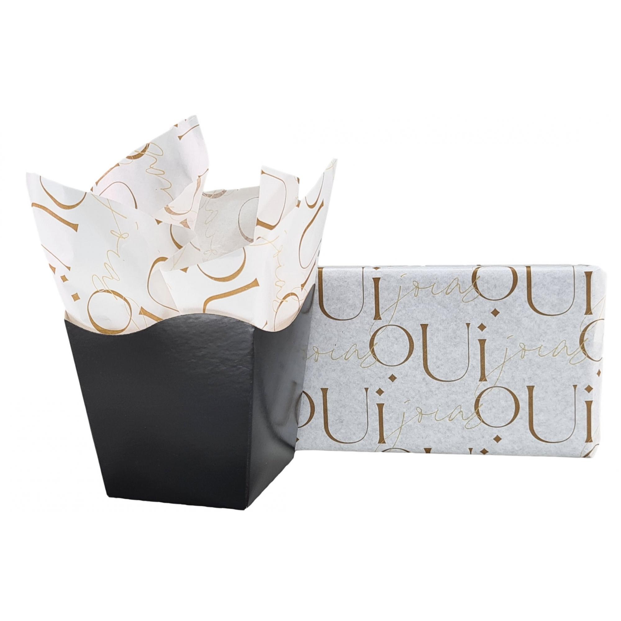Papel de Seda Personalizado 20g/m - Tamanho 50 x 70  - Linha Paper 6360  - Litex Embalagens