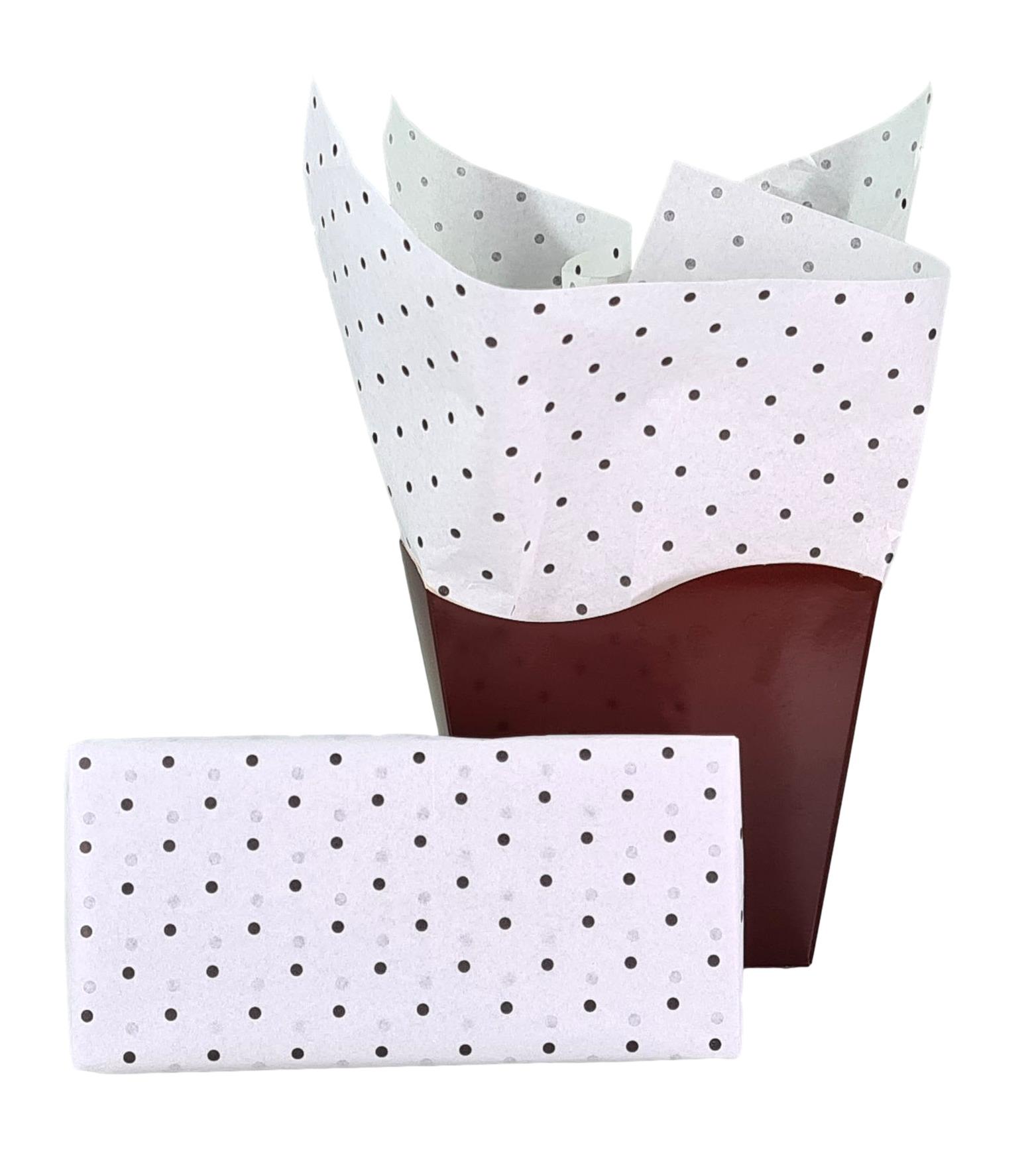 Papel de Seda Personalizado 20g/m - Tamanho 50 x 70 - Linha paper 7093  - Litex Embalagens