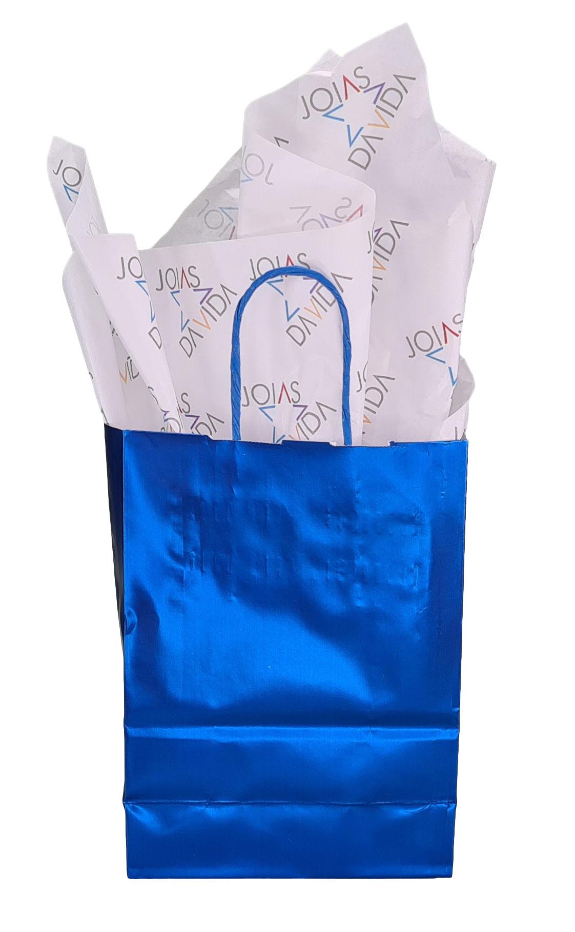Papel de Seda Personalizado 20g/m - Tamanho 50 x 70 - Linha paper 7665  - Litex Embalagens