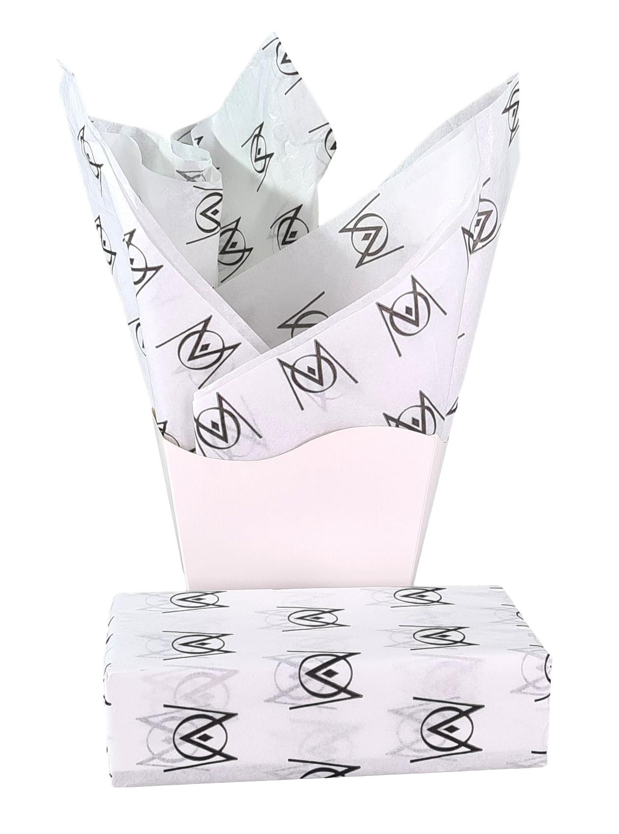 Papel de Seda Personalizado 20g/m - Tamanho 50 x 70 - Linha paper  7669  - Litex Embalagens