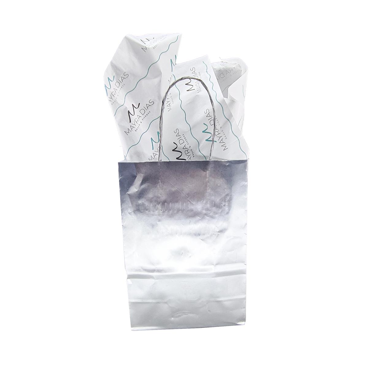 Papel de Seda Personalizado 20g/m - Tamanho 50 x 70  - Linha paper 1206  - Litex Embalagens