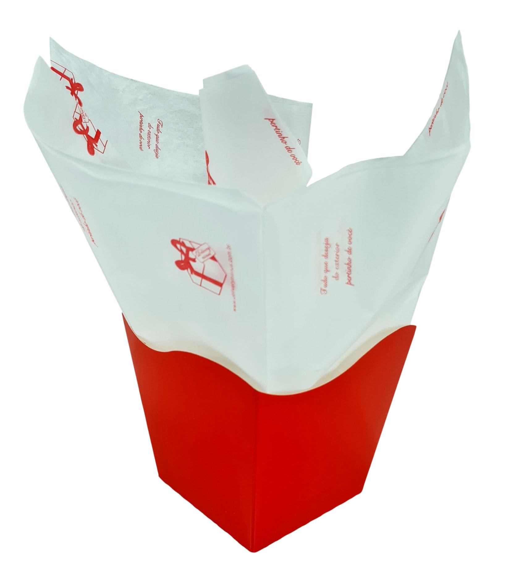 Papel de Seda Personalizado 20g/m - Tamanho 50 x 70 - Linha paper 2054  - Litex Embalagens