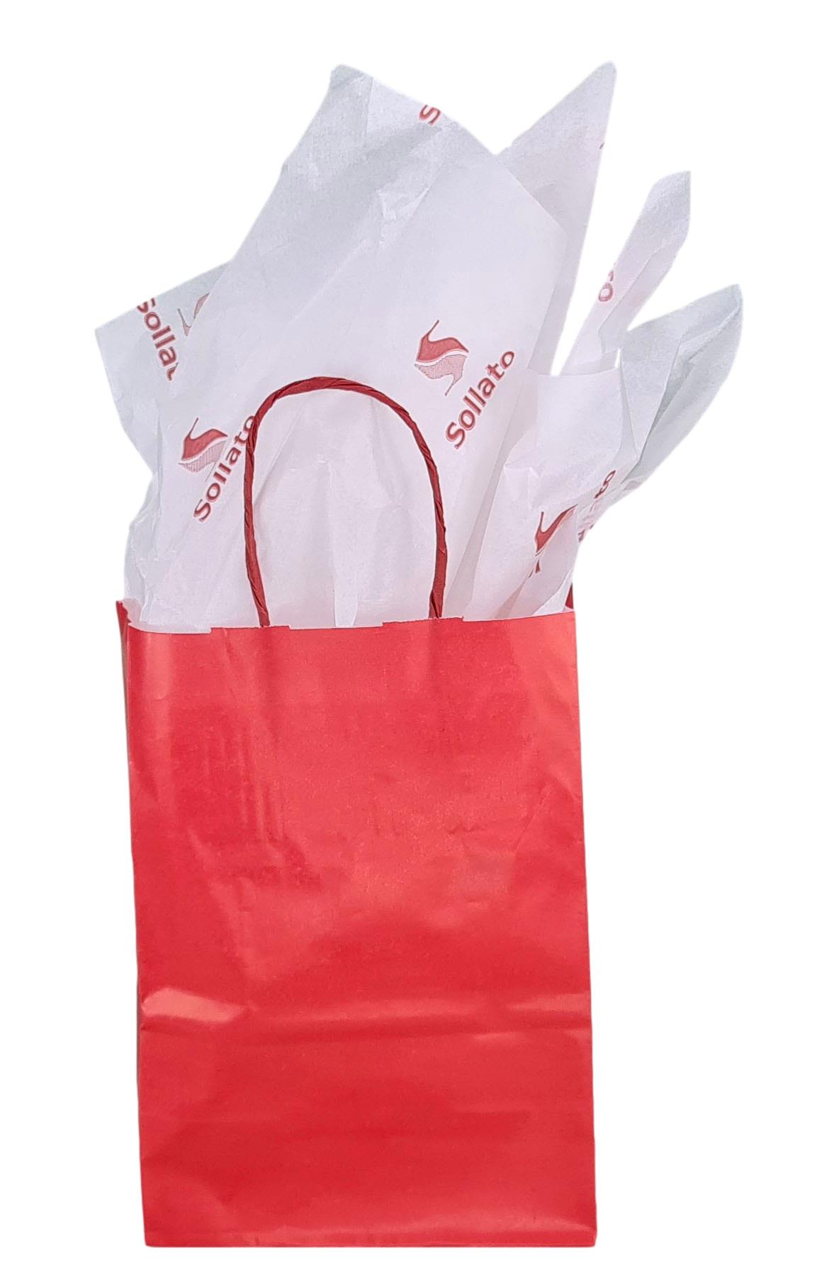 Papel de Seda Personalizado 20g/m - Tamanho 50 x 70 - Linha paper 2058  - Litex Embalagens