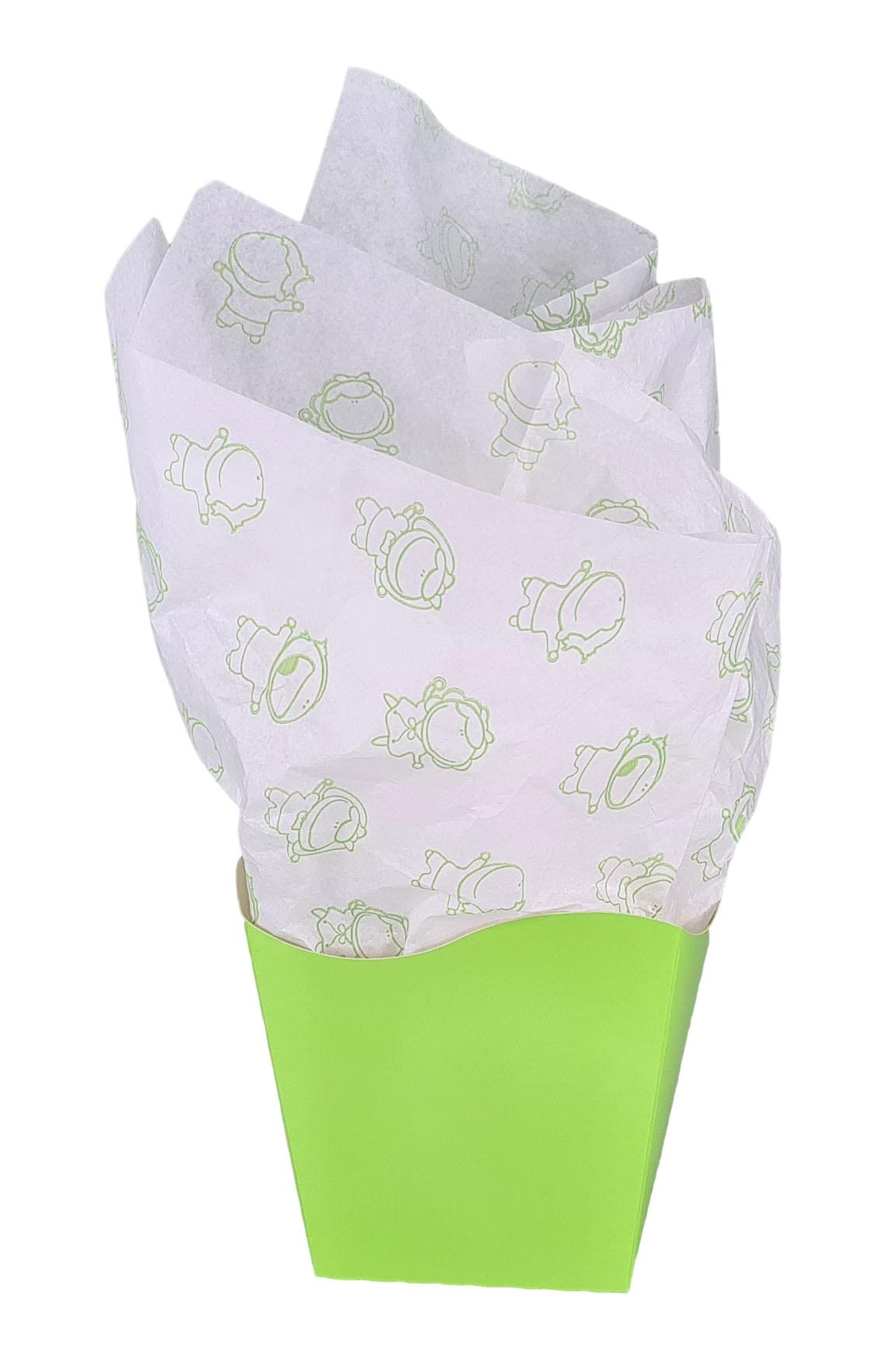 Papel de Seda Personalizado 20g/m - Tamanho 50 x 70 - Linha paper 2059  - Litex Embalagens