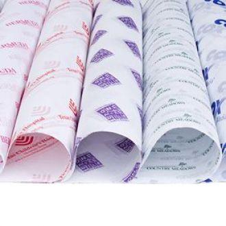 Papel de Seda Personalizado 20g/m - Tamanho 50 x 70 - Linha paper 389  - Litex Embalagens