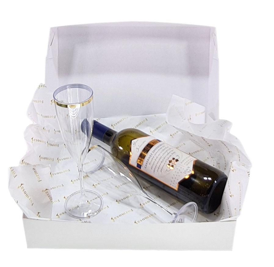 Papel de Seda Personalizado 20g/m - Tamanho 50 x 70 - Linha paper 392  - Litex Embalagens