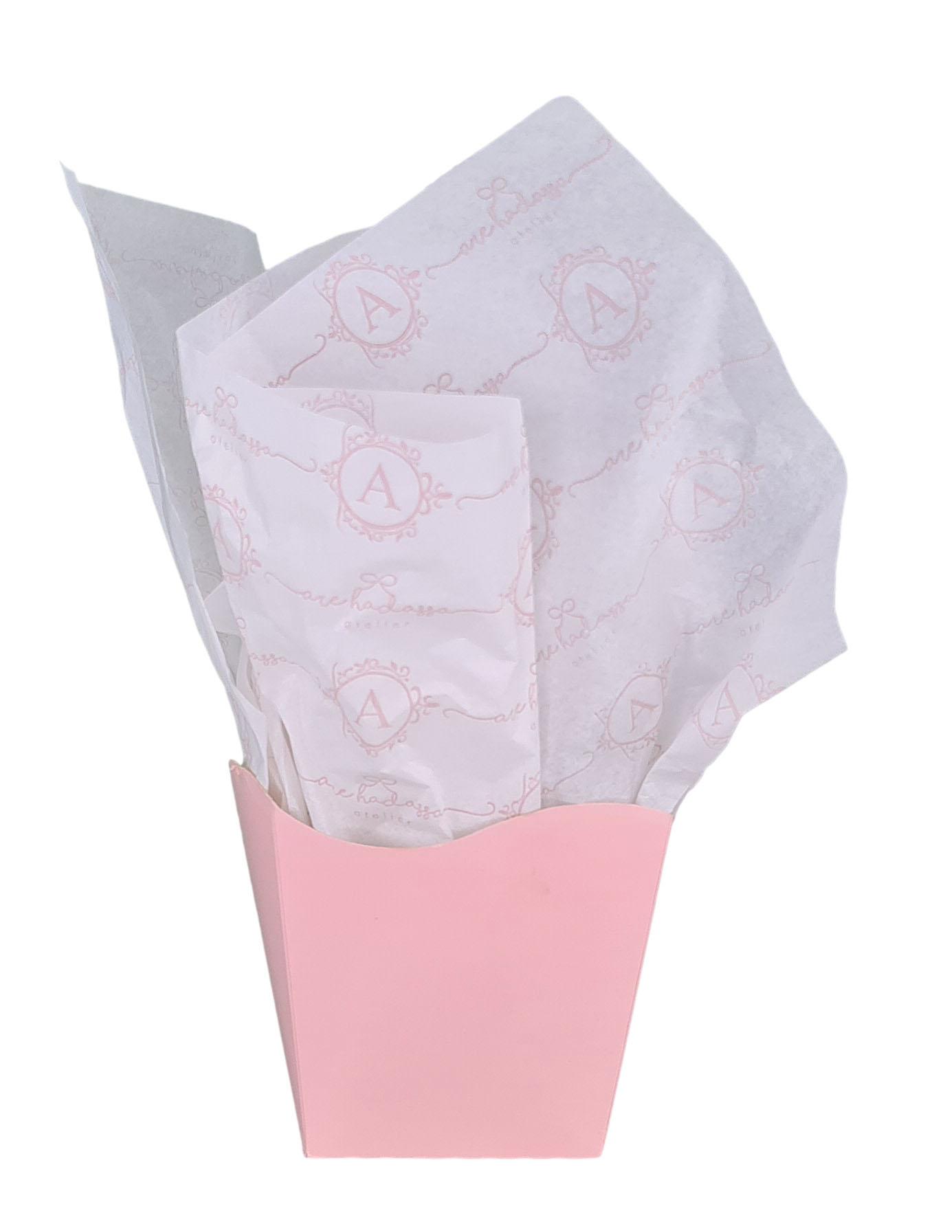 Papel de Seda 20g/m 50x70 Personalização em Flexografia 1 Cor  - Litex Embalagens
